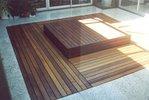 Deck over unused Garden