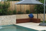 Outdoor Bench Seating with Storage