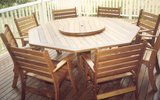 1.8m Octagonal Table Laguna Chairs