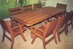 2.4m x 1m Table Laguna Chairs